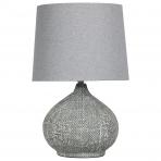 Weave Lamp Charcoal