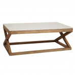 Maine Marble Top Coffee Table