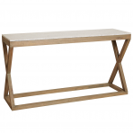 Maine Marble Top Console