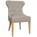 Haven Buttonback Dining Chair Natural
