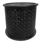 Pavillion Side Table Charcoal