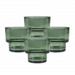 Lune Den Votive Green Set/4