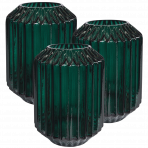 Lune Gem Vases Jade Set/3 Lrg