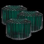 Lune Gem Vases Jade Set/3 Sml