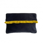 Mansour Fringe Clutch Midnight