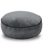 Classic Round Floor Cushion Steele