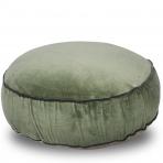 Classic Round Floor Cushion Celery