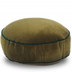 Classic Round Floor Cushion Olive