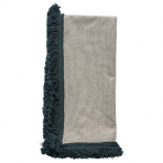 Mansour Midnight Fringe Napkin Set/4