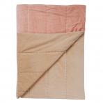 Rambagh Velvet Bedcover Pink