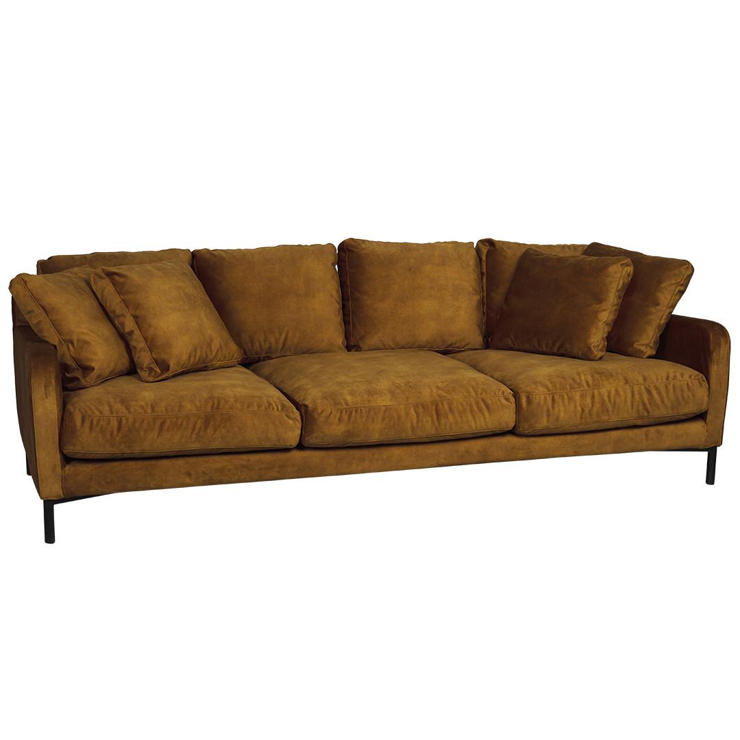 Loft 3.5 Seater Sofa Ochre