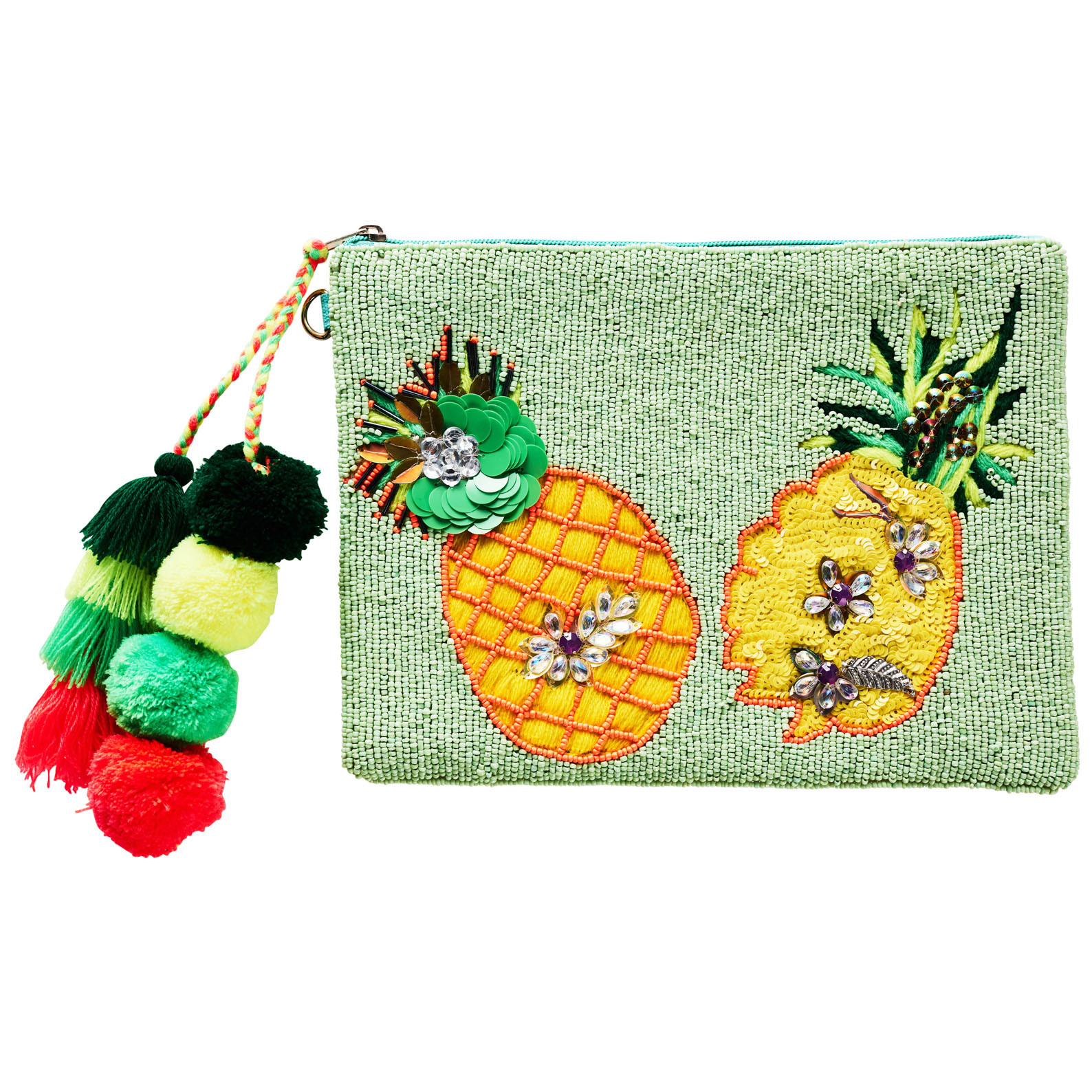 Summertime Pineapple Clutch