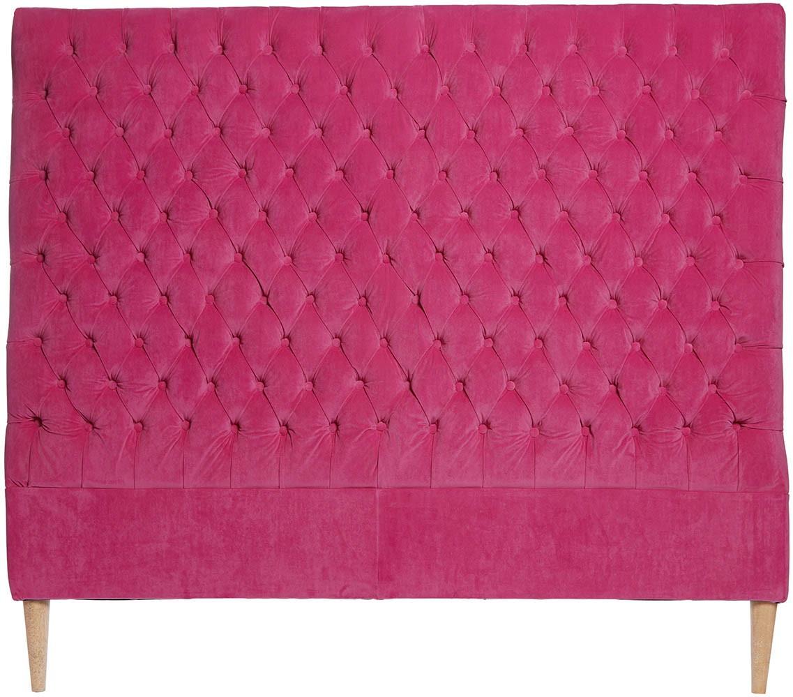 Lotus Velvet Bedhead King Single Pink