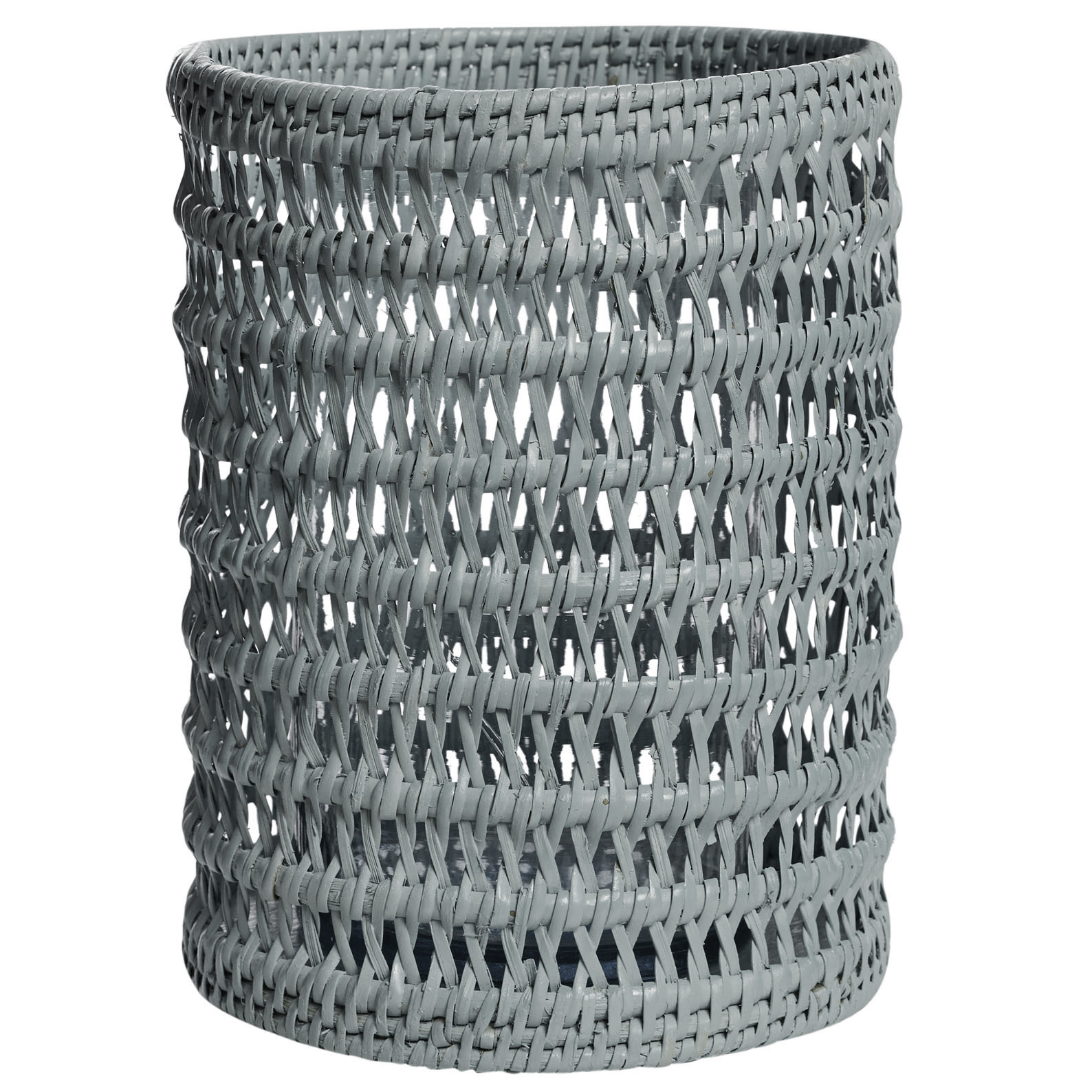 Pavillion Illusion Candleholder Grey