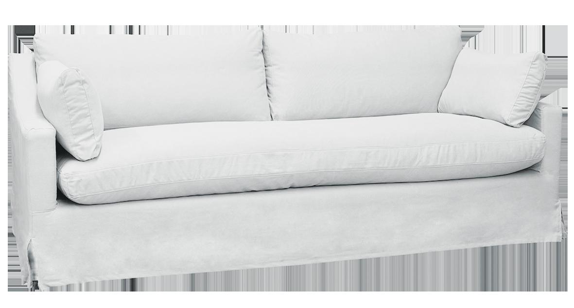 Irving Merricks 3.5 Seater Sofa White