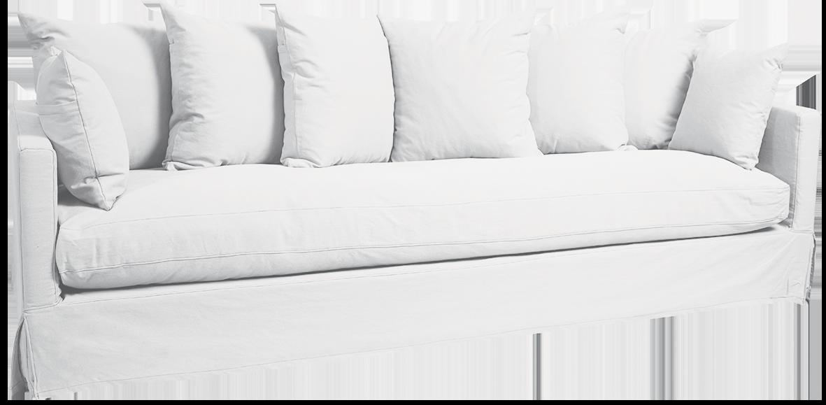 Hastings 3.5 Seater Sofa White