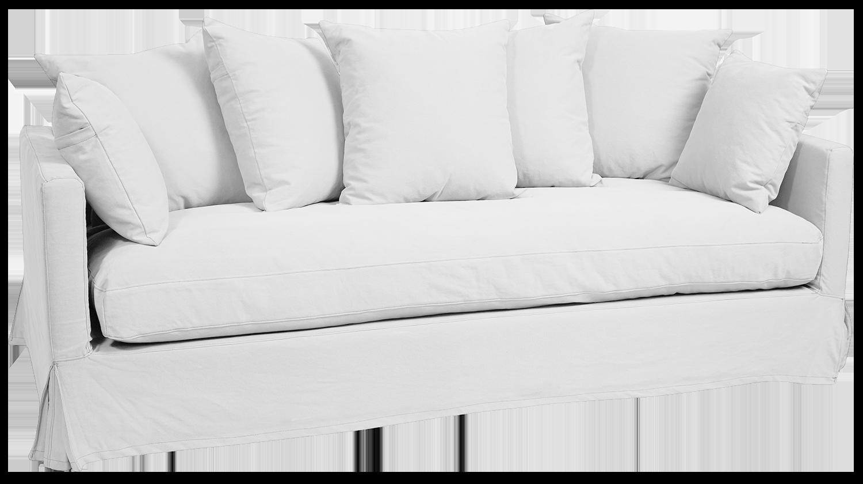 Hastings 3 Seater Sofa White
