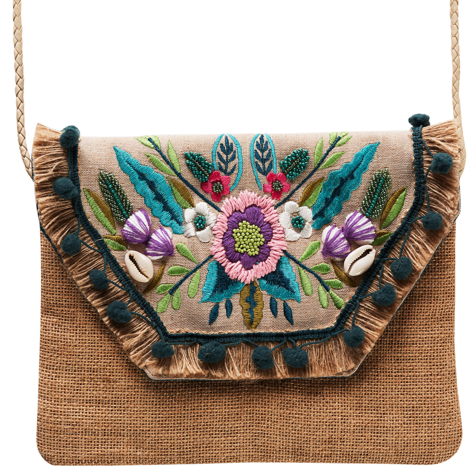 Bohemia Summerfest Clutch