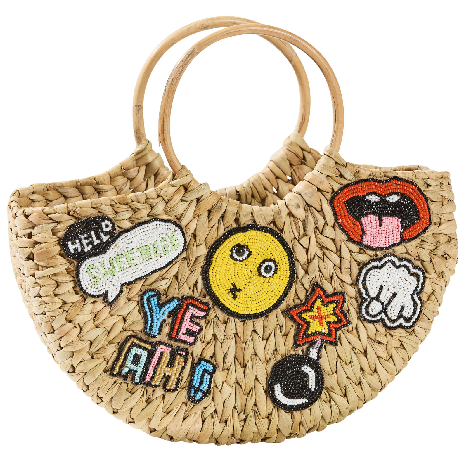 Summertime Patch Basket Small