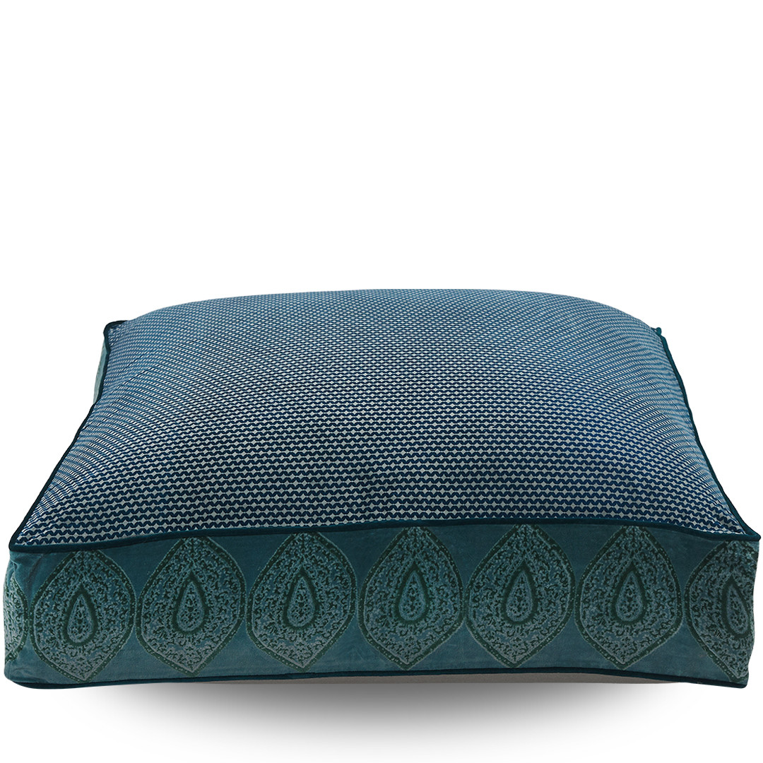 Indienne Square Floor Cushion