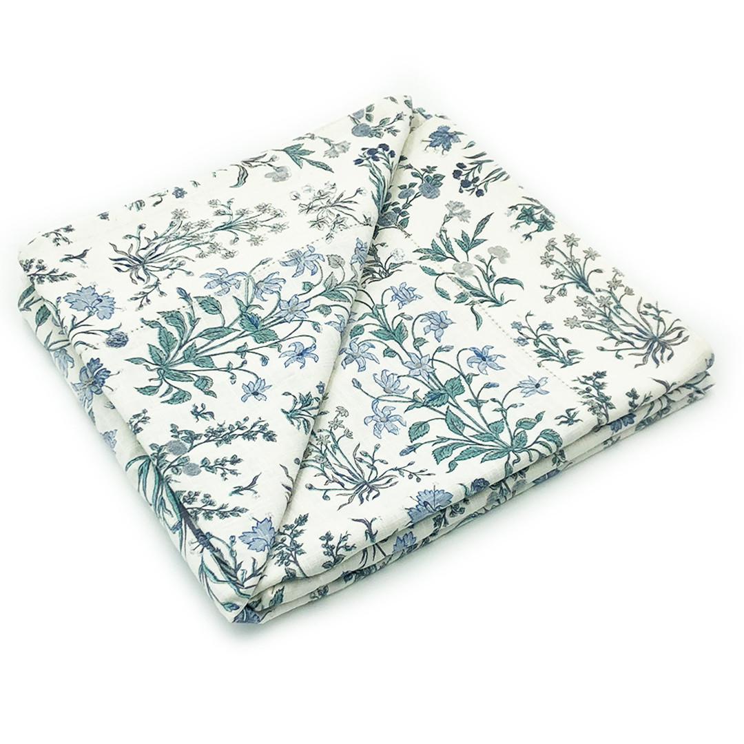 Forget-Me-Not Tablecloth Large
